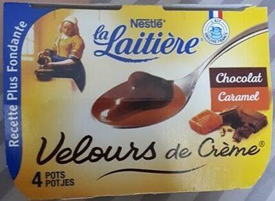 Velours de Crème Chocolat Caramel - Produit - fr