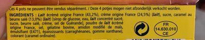 Velour de creme - Ingrediënten