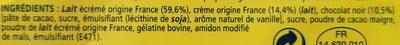 Velours de creme - Ingrediënten - fr