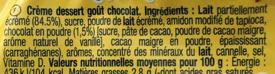 Nesquik go - Ingredientes - fr