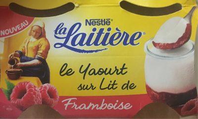 Le Yaourt sur Lit de Framboise - Product - fr