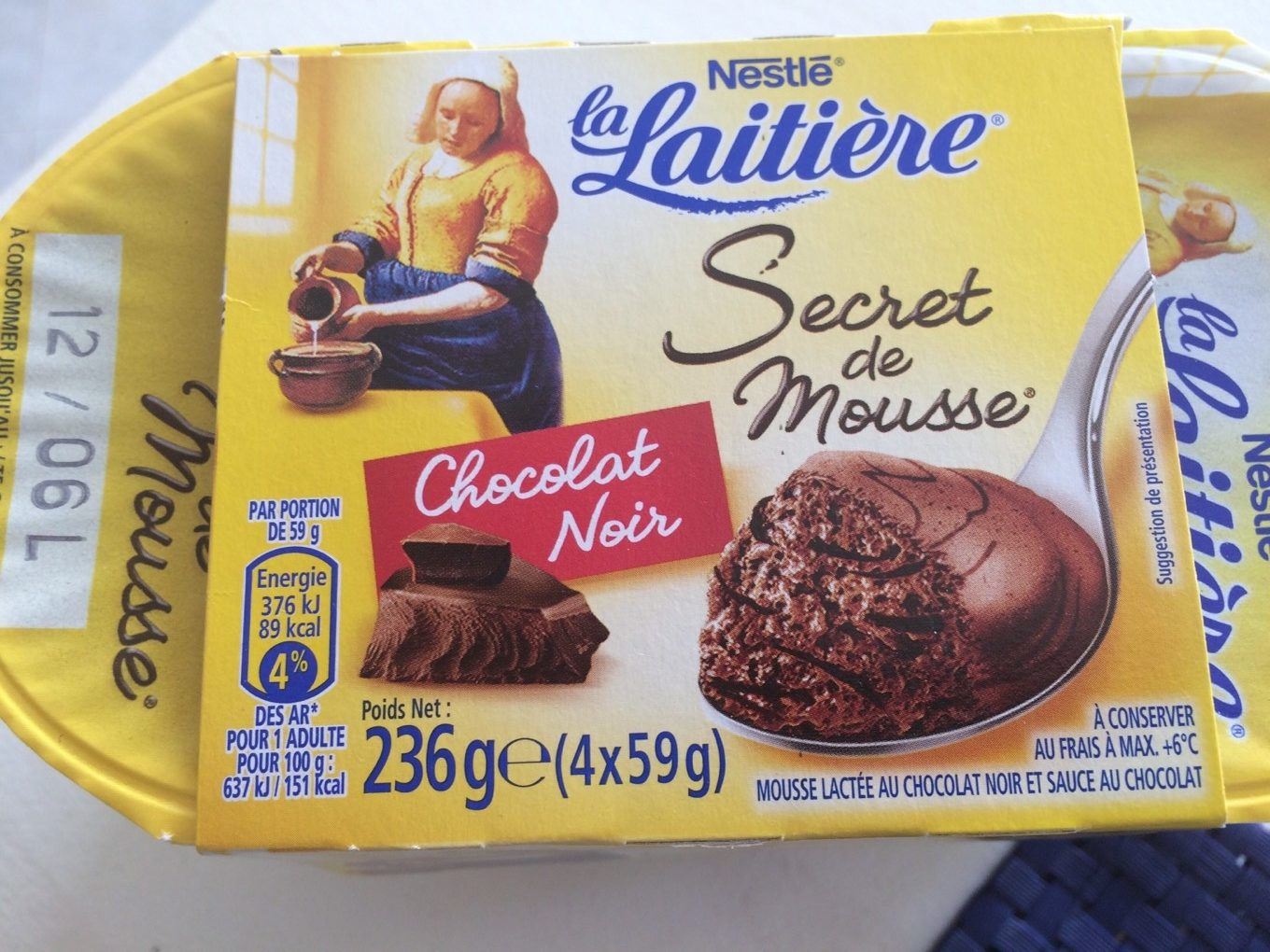 Secret de mousse la laitiere - Product