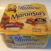 Mousse à la crème de marron Maronsui's - Produit