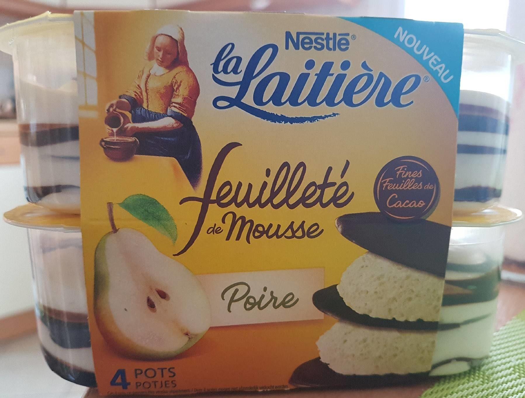 Feuilleté de Mousse Poire - Product