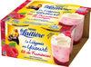 La Laitière yaourt liégeois à la framboise - Product