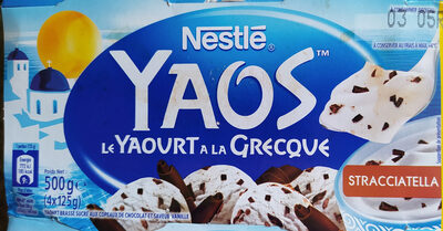 Yaos Le Yaourt à la Grecque stracciatella 500 g - Product - fr