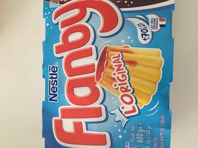 Flanby - Ingrédients