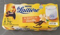Le yaourt à la vanille - Product