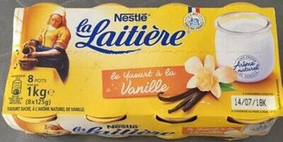 Le yaourt à la vanille - Product - fr