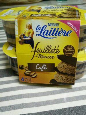 Feuilleté de mousse café - Produit - fr