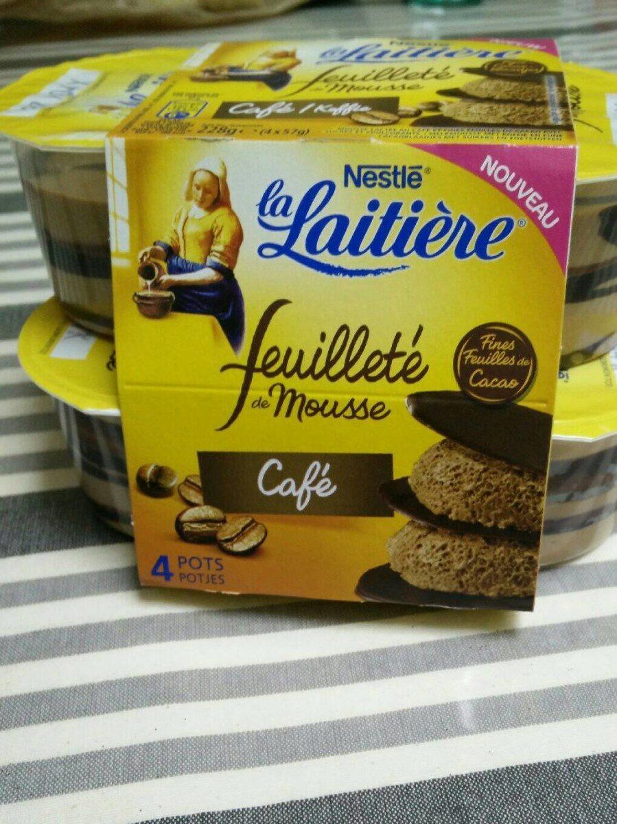 Feuilleté de mousse café - Product - fr