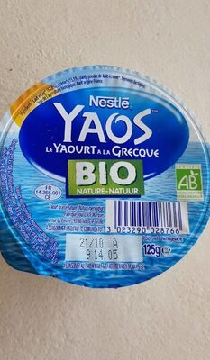 Yaos yaourt a la grecque bio - Prodotto - fr