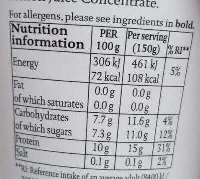 Raspberry Icelandic skyr - Nutrition facts