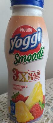 Nestlé yoggi Smoodi morango é ananás - Product