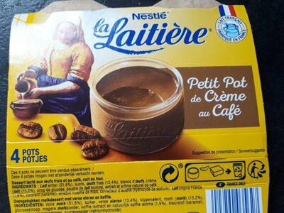 Petit pot de crème au café - Product