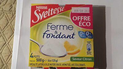 Ferme et Fondant Citron - Produit - fr
