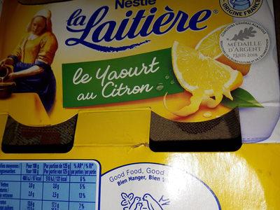 Le yaourt au citron - Product - fr