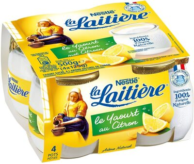 Le yaourt au citron - Prodotto - fr