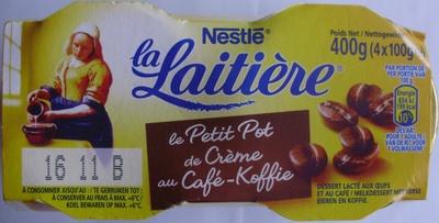 Le Petit Pot de Crème au Café (4 Pots) - Produit - fr