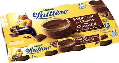 La Laitière Petit pot de crème chocolat - Produit - fr