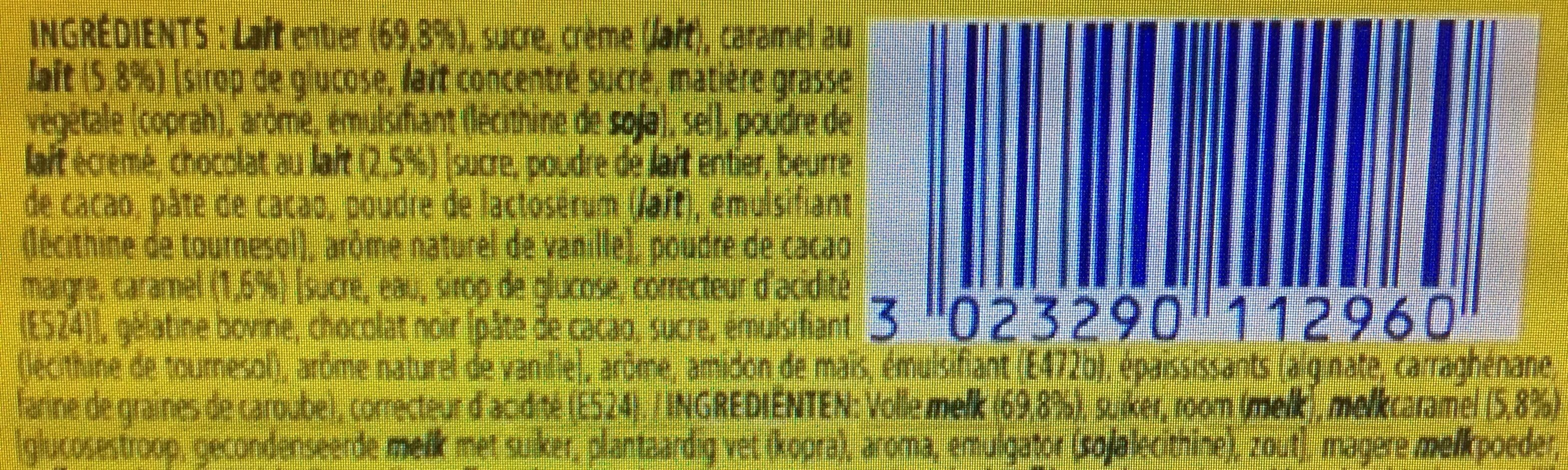 la laiti re secret de mousse duo chocolat au lait caramel nestl 4 59 g. Black Bedroom Furniture Sets. Home Design Ideas