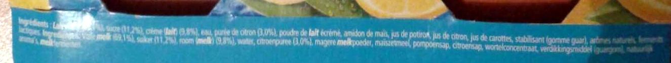 Le Yaourt à la Grecque (à la pulpe de citron) - Ingrediënten - fr