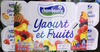 Yaourts et Fruits - Product
