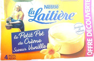 Le Petit Pot de Crème Saveur Vanille - Product