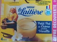 Petit Pot de Crème Saveur Vanille (4 x 100 g) - Produit - fr