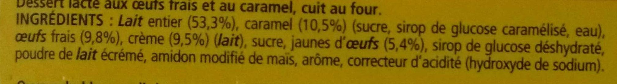 Le Petit Pot de Crème au Caramel (Offre Découverte) - Ingredients