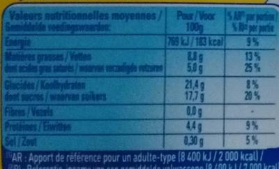 Le Petit Pot de Crème au Caramel (Offre Découverte) - Nutrition facts