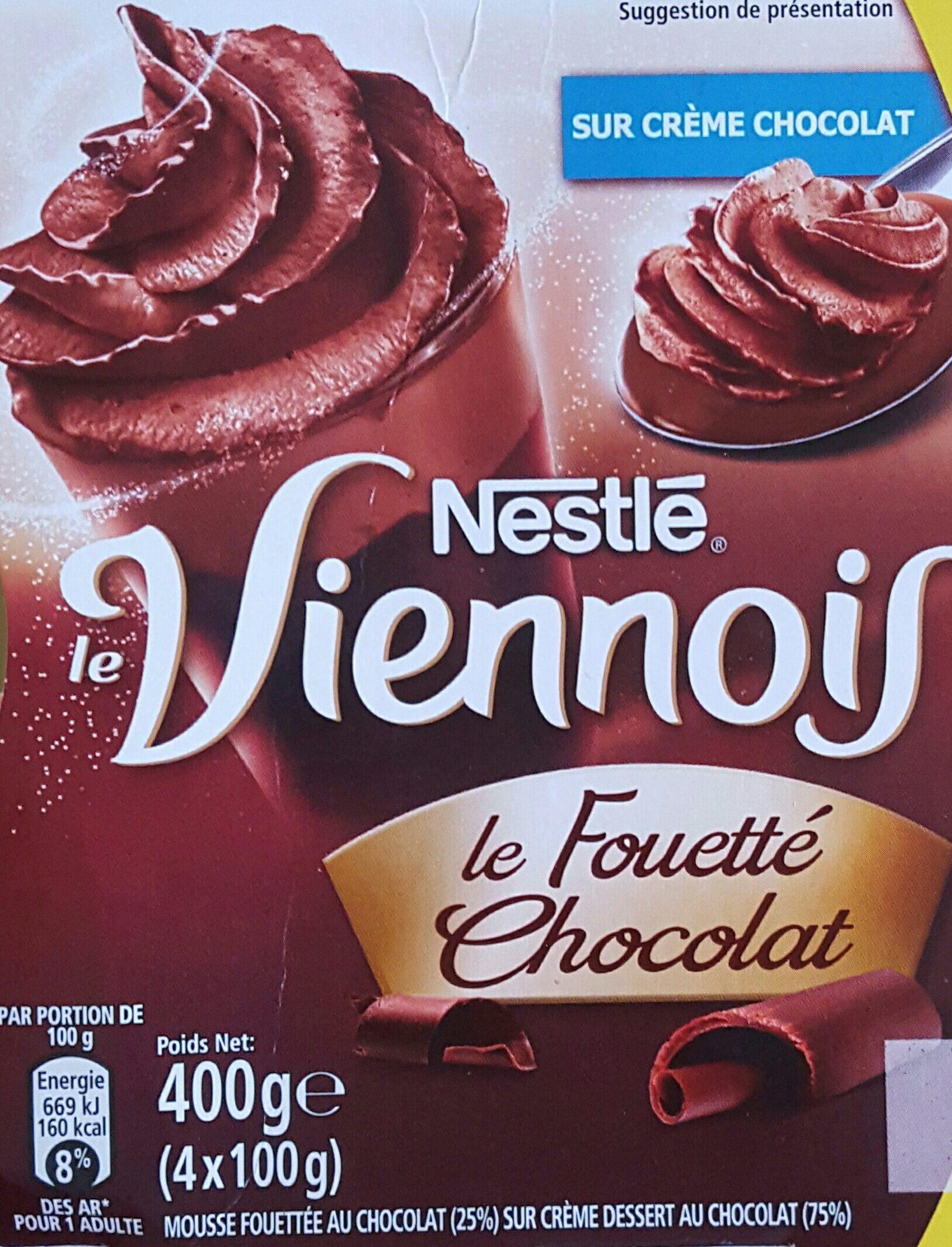 Le viennois Le fouetté Chocolat - Product - fr