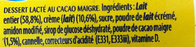 Petit Nesquik - Ingredients