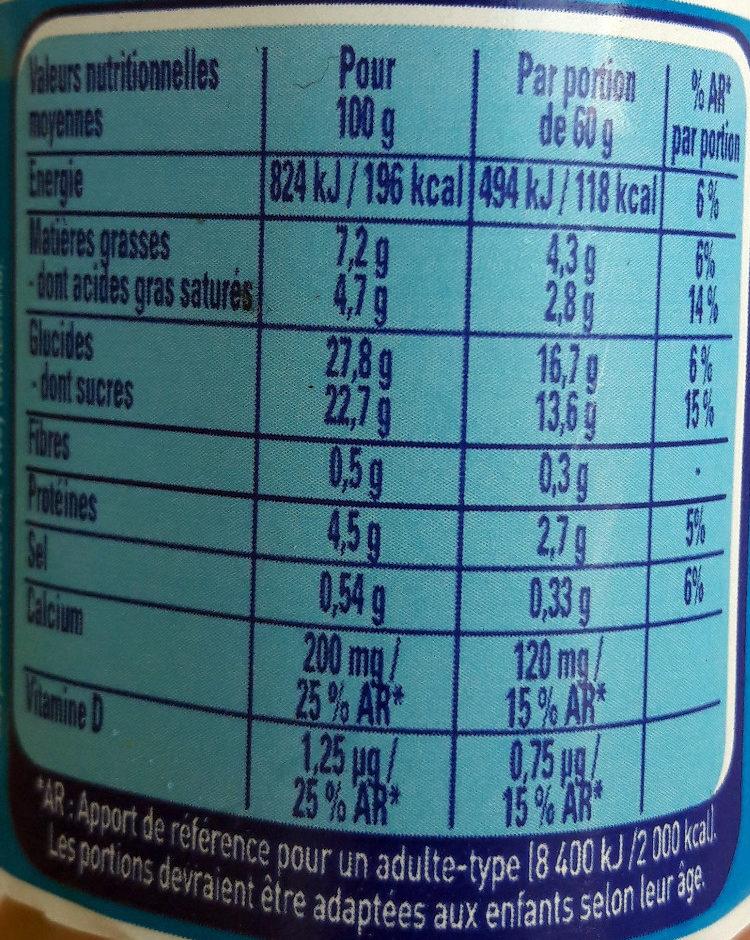 Petit Nesquik - Nutrition facts - fr