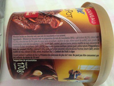 Le Grand Pot Mousse Chocolat, Macadamia & Caramel - 2