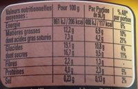 Le Grand Pot Mousse Chocolat, Macadamia & Caramel - Voedingswaarden - fr