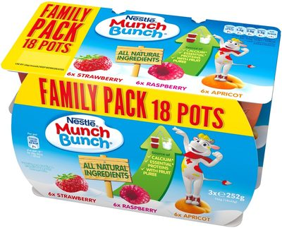 Munch Bunch Fromage Frais Original - Product
