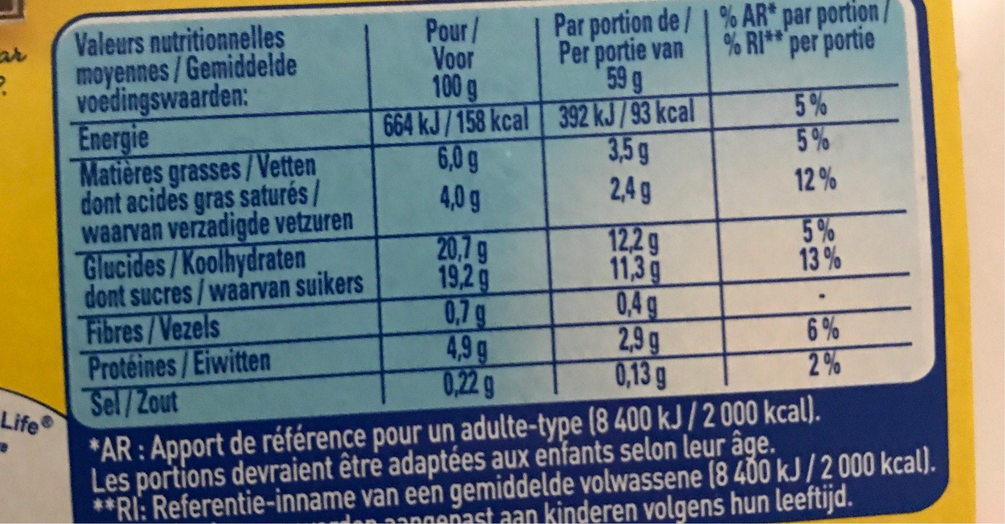 desserts mousse chocolat lait et blanc la laiti re 236 g 4 59 g. Black Bedroom Furniture Sets. Home Design Ideas