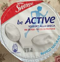 Be Active - Yogurt alla Greca - Produit