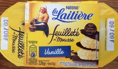 Feuilleté de Mousse Vanille - Produit - fr