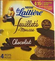 Feuilleté de Mousse - Produit