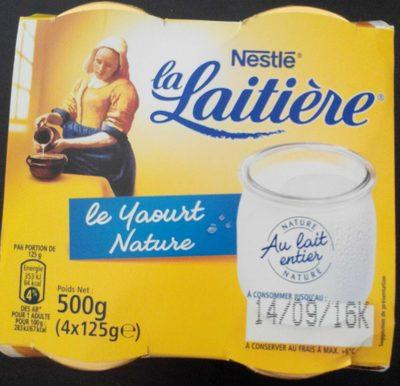 Le Yaourt Nature - Product