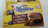 Le petit pot de crème chocolate - Produit - fr