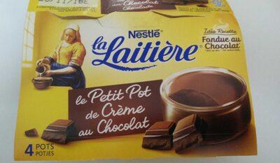 Le Petit Pot de Crème au Chocolat - Produit