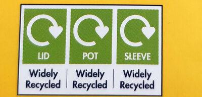Le petit pot de crème chocolate - Instruction de recyclage et/ou informations d'emballage - en