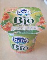 Yaourt aux Fruits Lactel Bio Pêche - Voedigswaarden