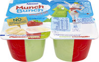 Munch Bunch Double Up Strawberry and Banana - Product
