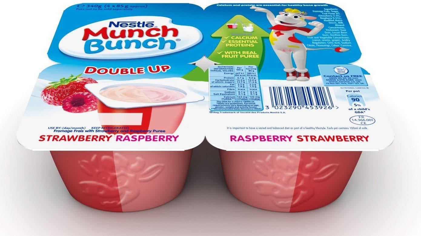 Munch Bunch Double Up Raspberry & Strawberry - Prodotto - en