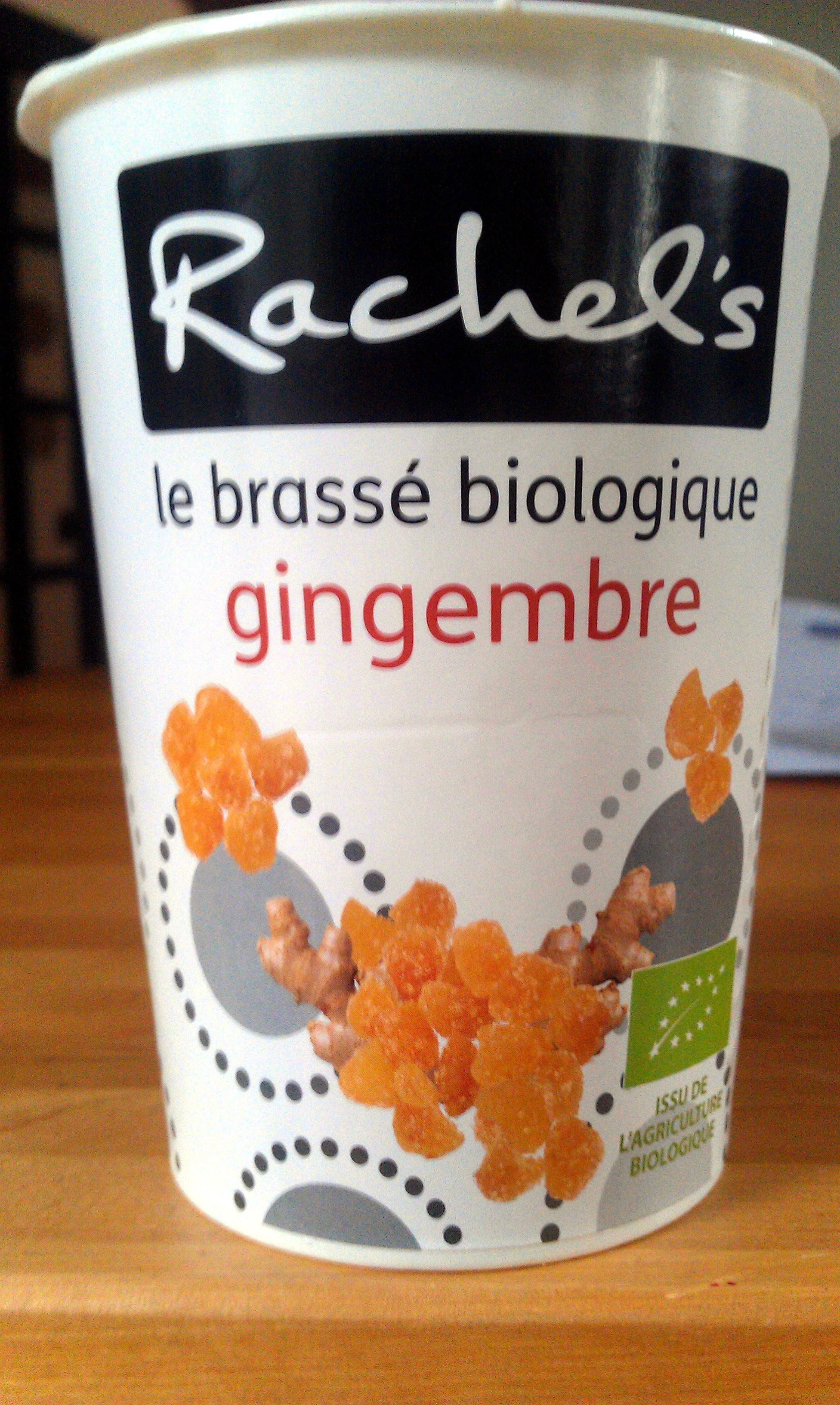Rachel's - le brassé biologique gingembre - Produit - fr