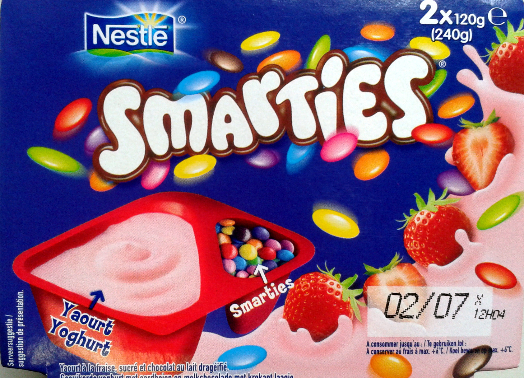 Smarties yaourt - Product - fr